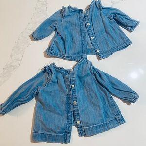 EUC- Baby Gap shirts